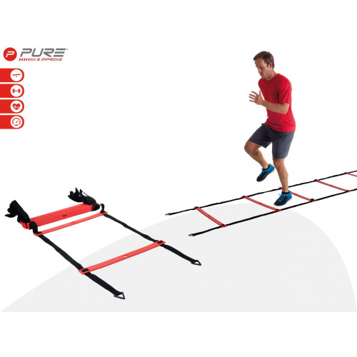 Лестница PURE2IMPROVE AGILITY LADDER PRO