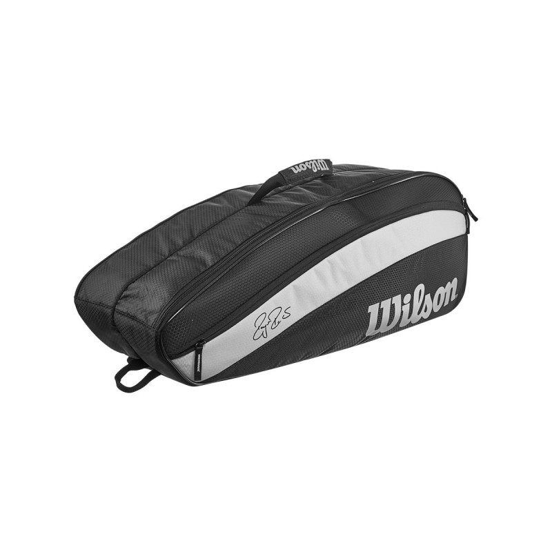 Теннисная сумка WILSON Federer Team 6 Pack Black
